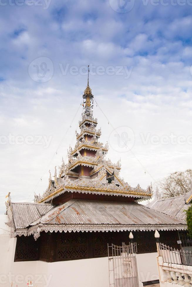 Temple de Mae Hon Song, Thaïlande photo