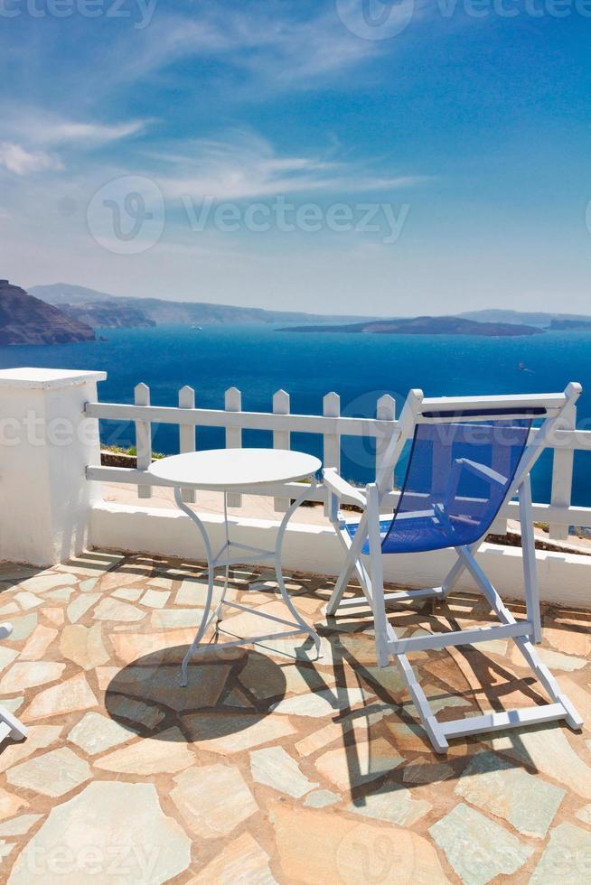 caldeira de santorin, grèce photo