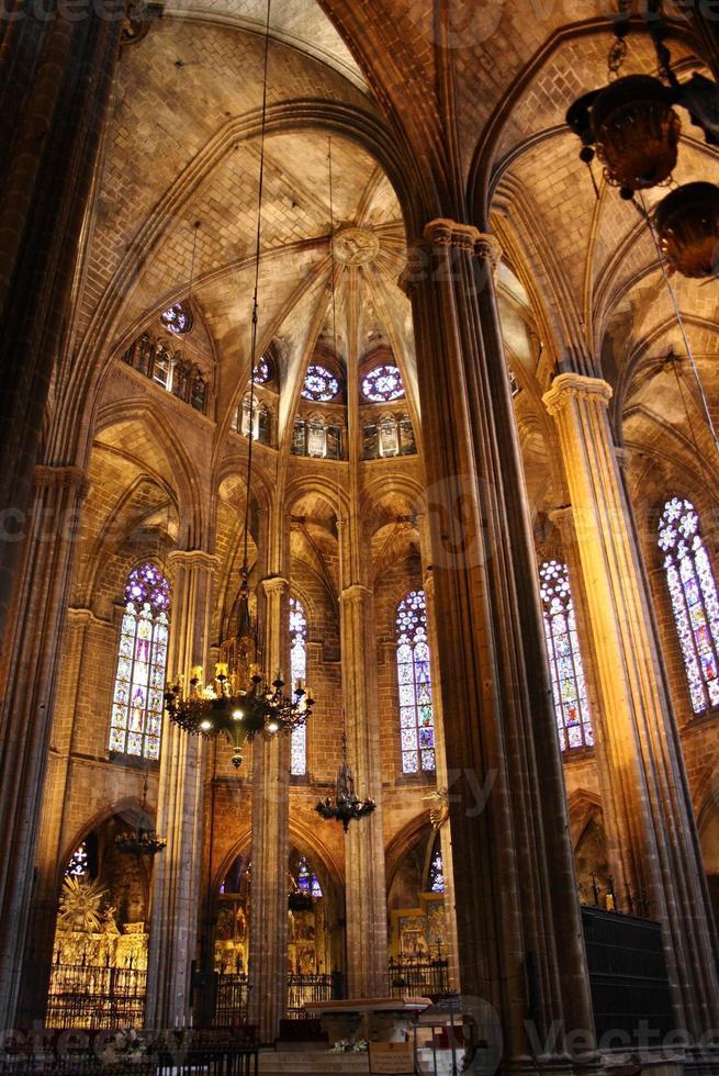 cathédrale de barcelone photo