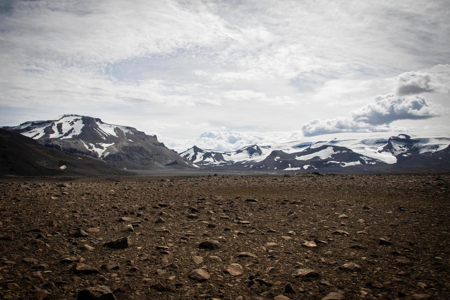 glaciers en Islande photo