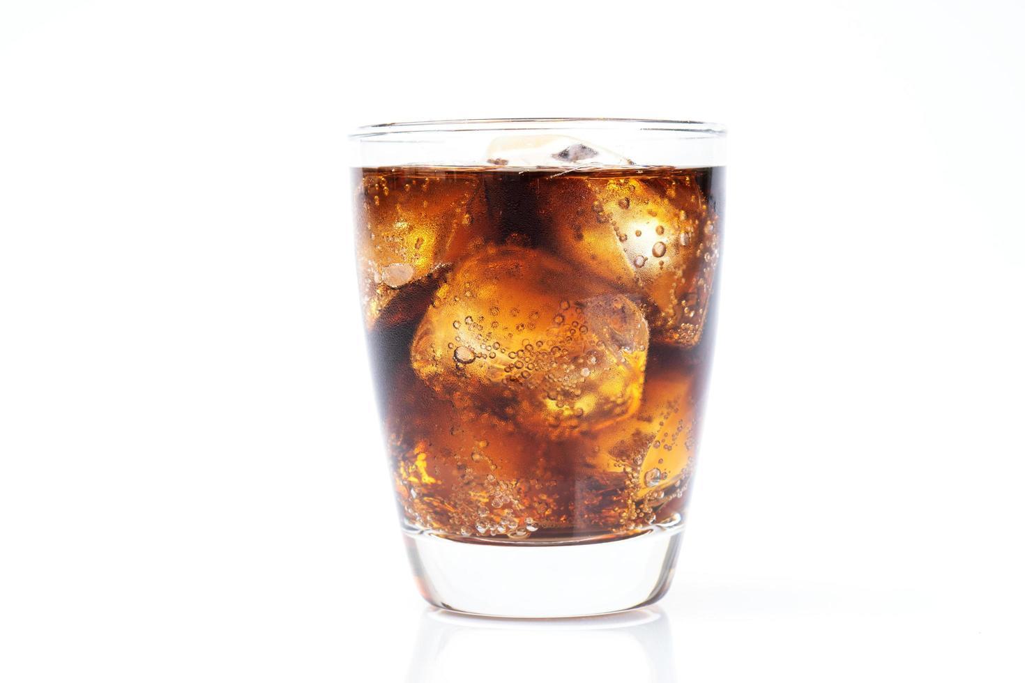 soda avec de la glace photo