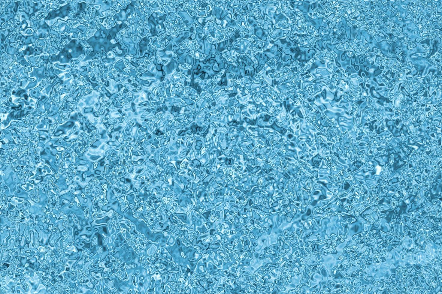 ondulations des gouttelettes de pluie dans la piscine photo