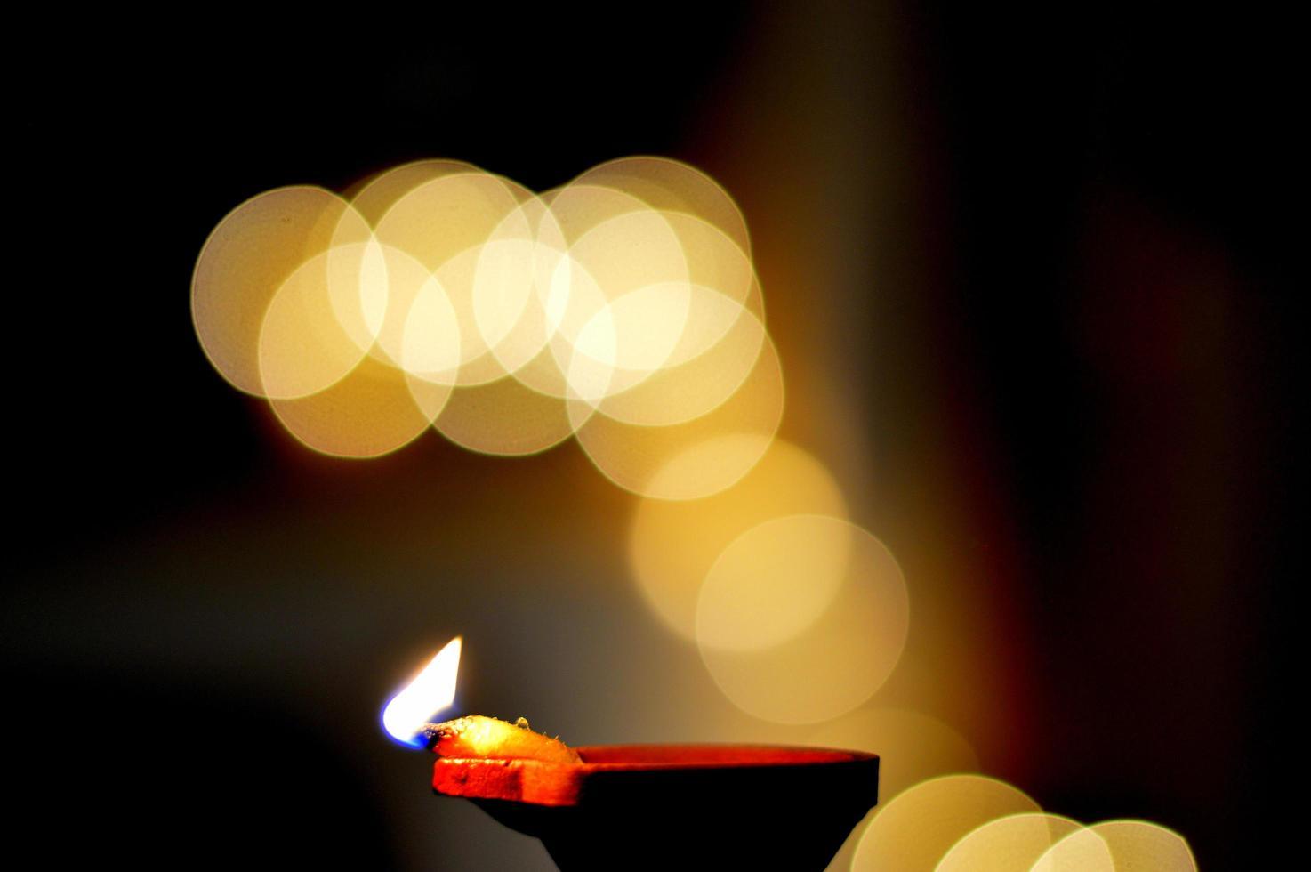 photographie bokeh de lumières photo