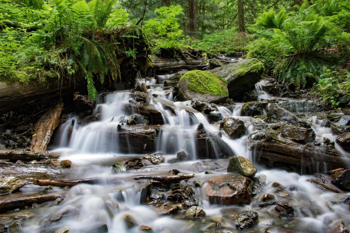 laps de temps de la rivière photo