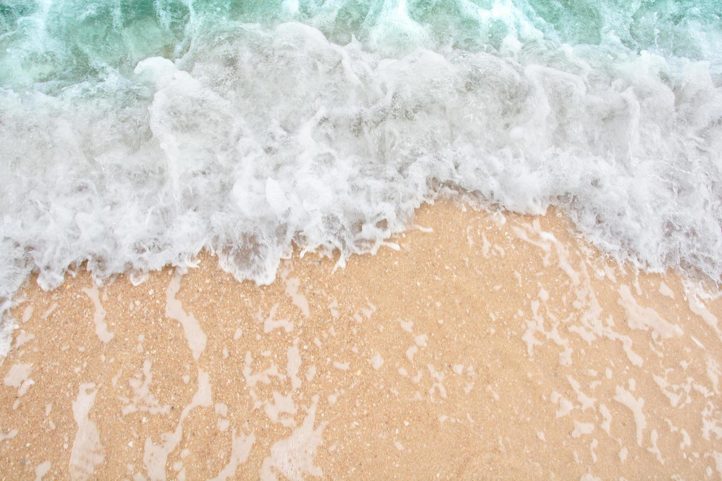 vagues douces sur la mer photo