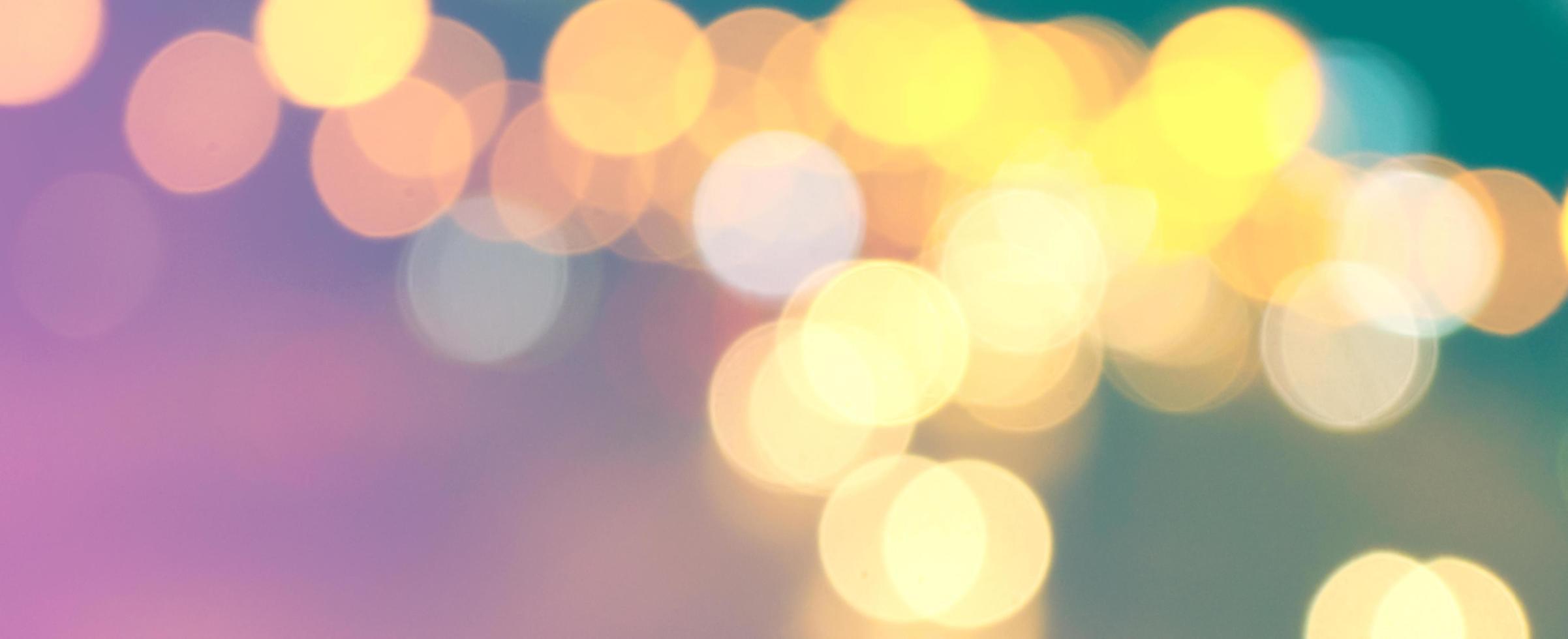 lumières bokeh colorées abstraites photo