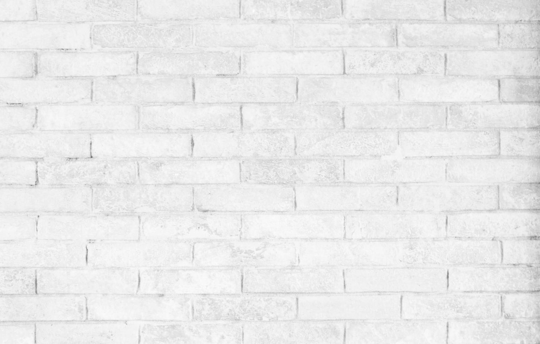 gros plan, de, mur brique blanche photo