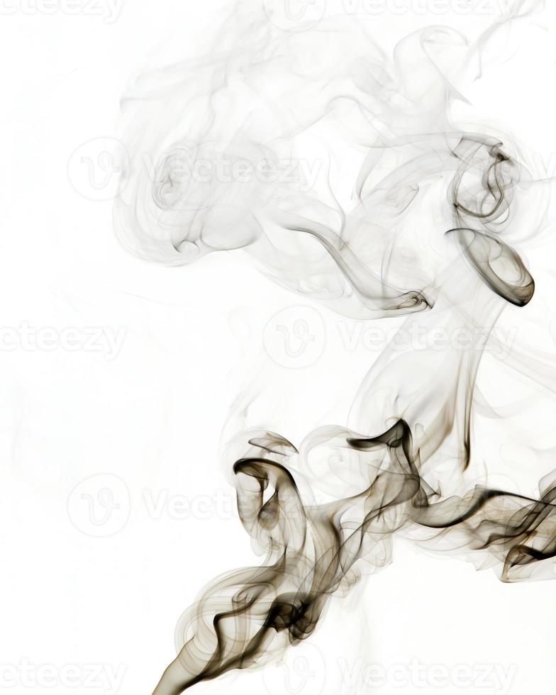 fumée grise photo