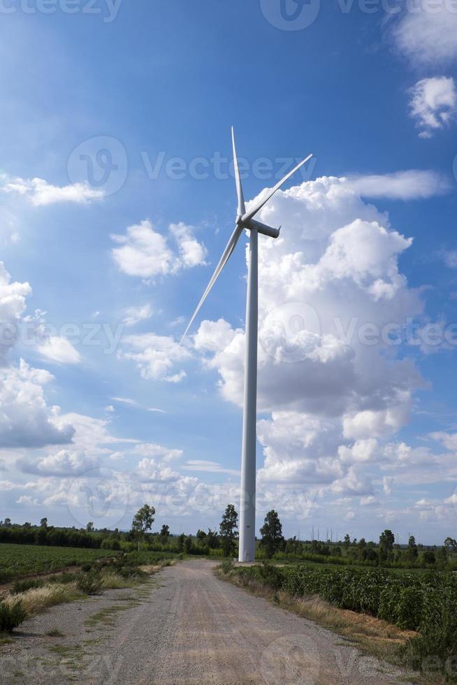 moulin à vent, Thaïlande photo