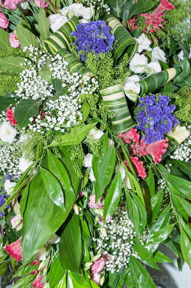 composition de fleurs photo