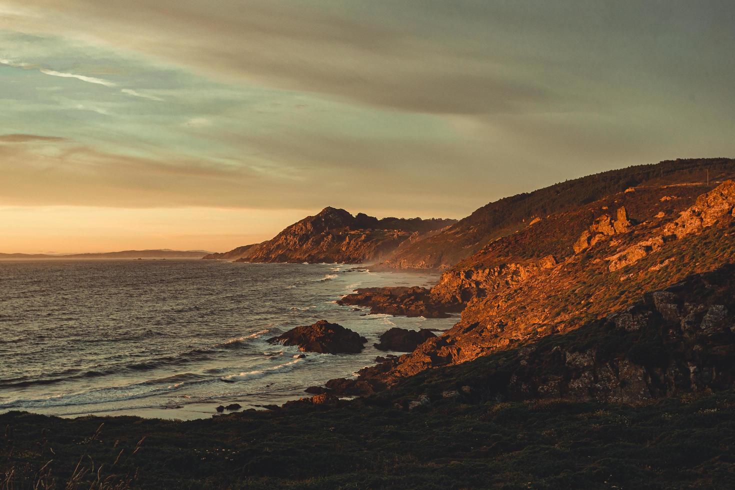 côte espagnole sauvage photo