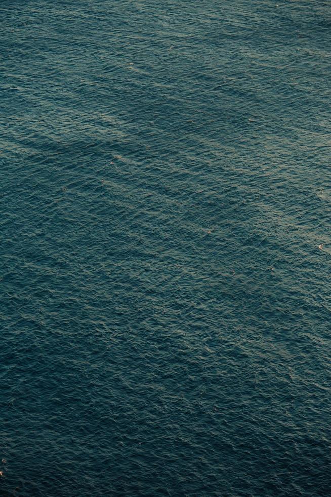 gros plan du motif de la mer photo