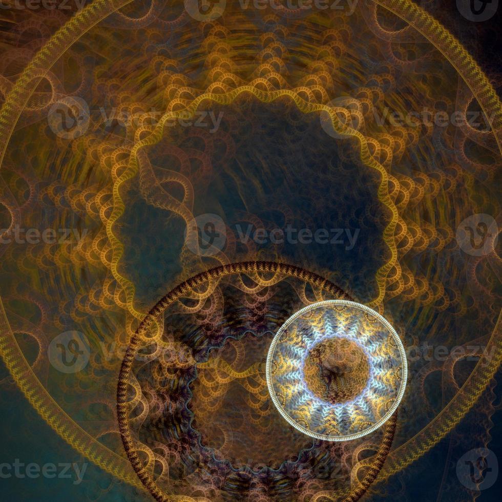 fond abstrait de roue dentée steampunk photo