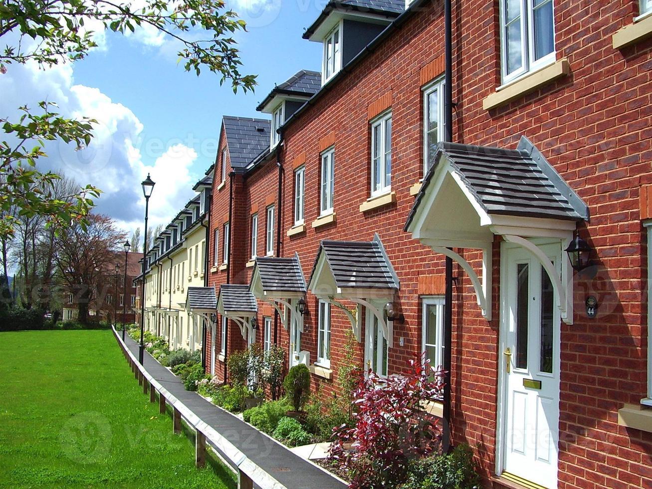 Maisons avec terrasse du 21e siècle photo