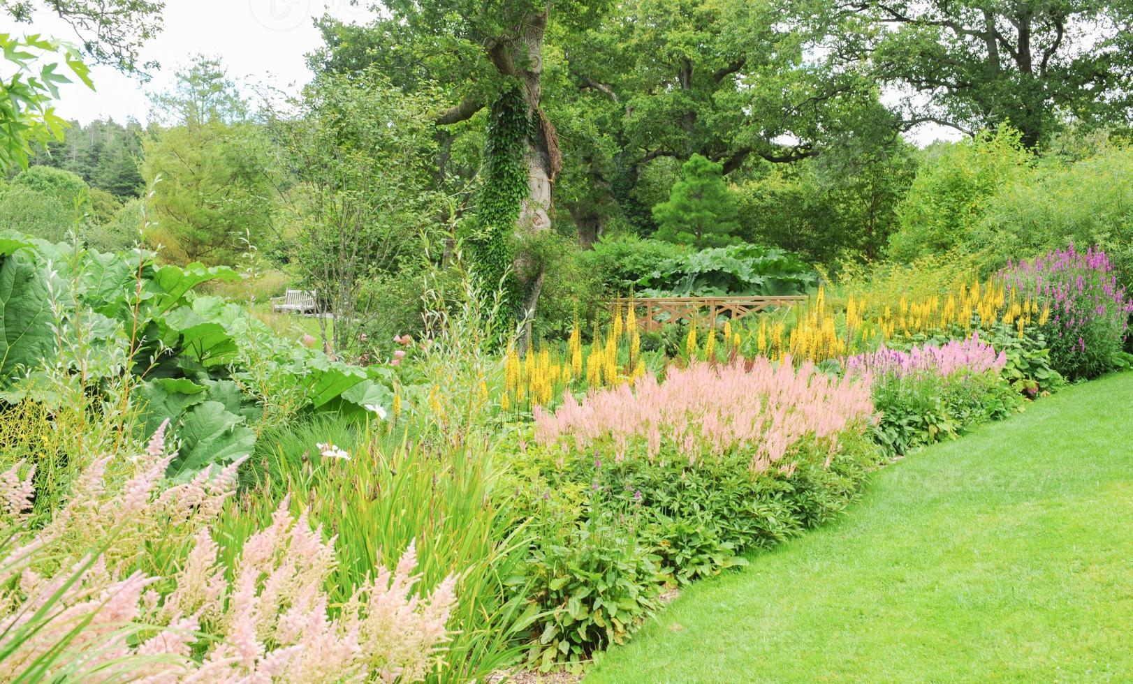 Jardins de Rosemore, Torrington, dans le Devon, England, UK photo