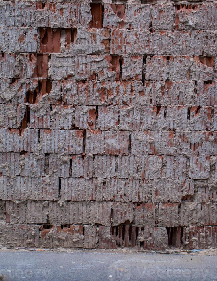 texture de mur de brique ancienne photo