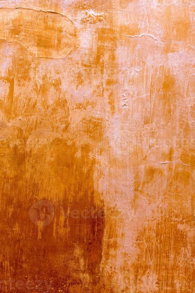 Minorque ciutadellagolden grunge texture de façade ocre photo