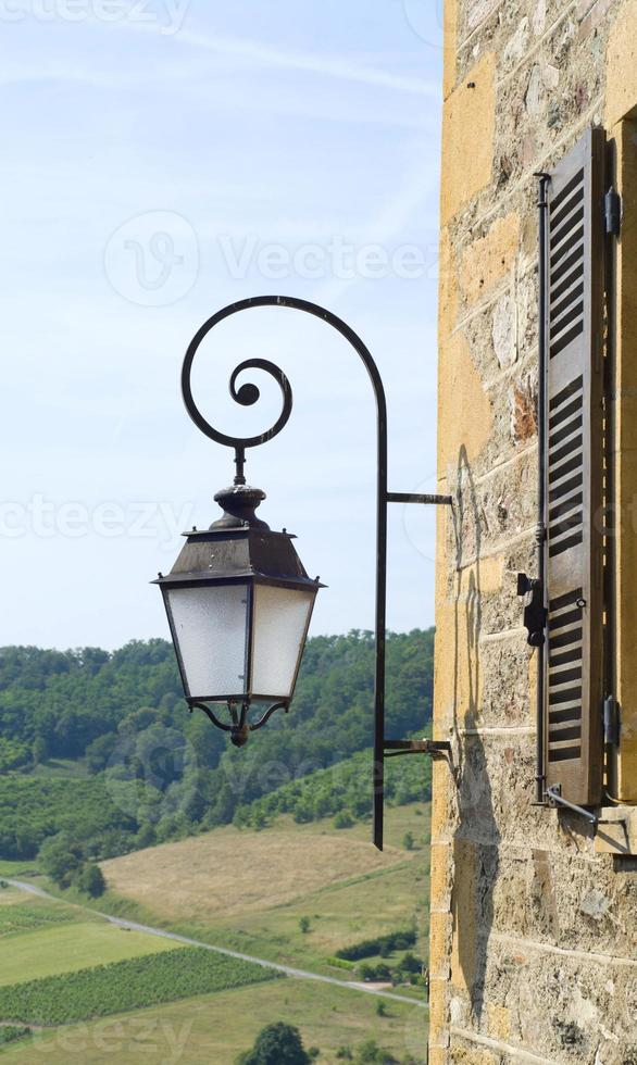 lanterne de rue vintage photo