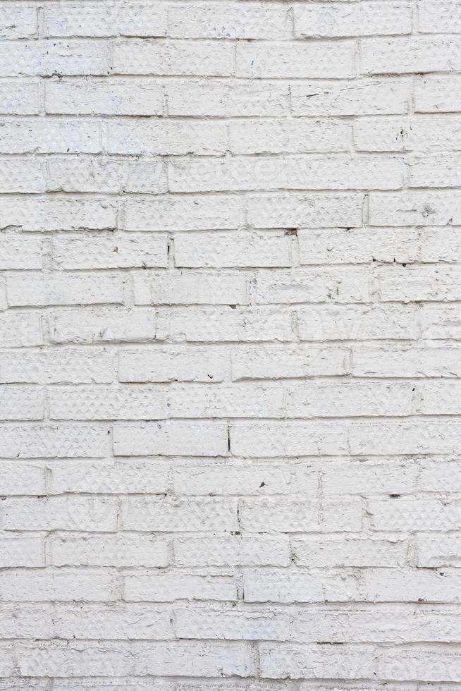 mur de briques blanches. mur de béton blanc grungy photo