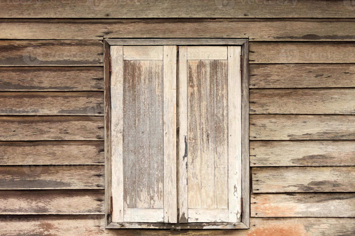 fond de bois de fenêtre murale photo