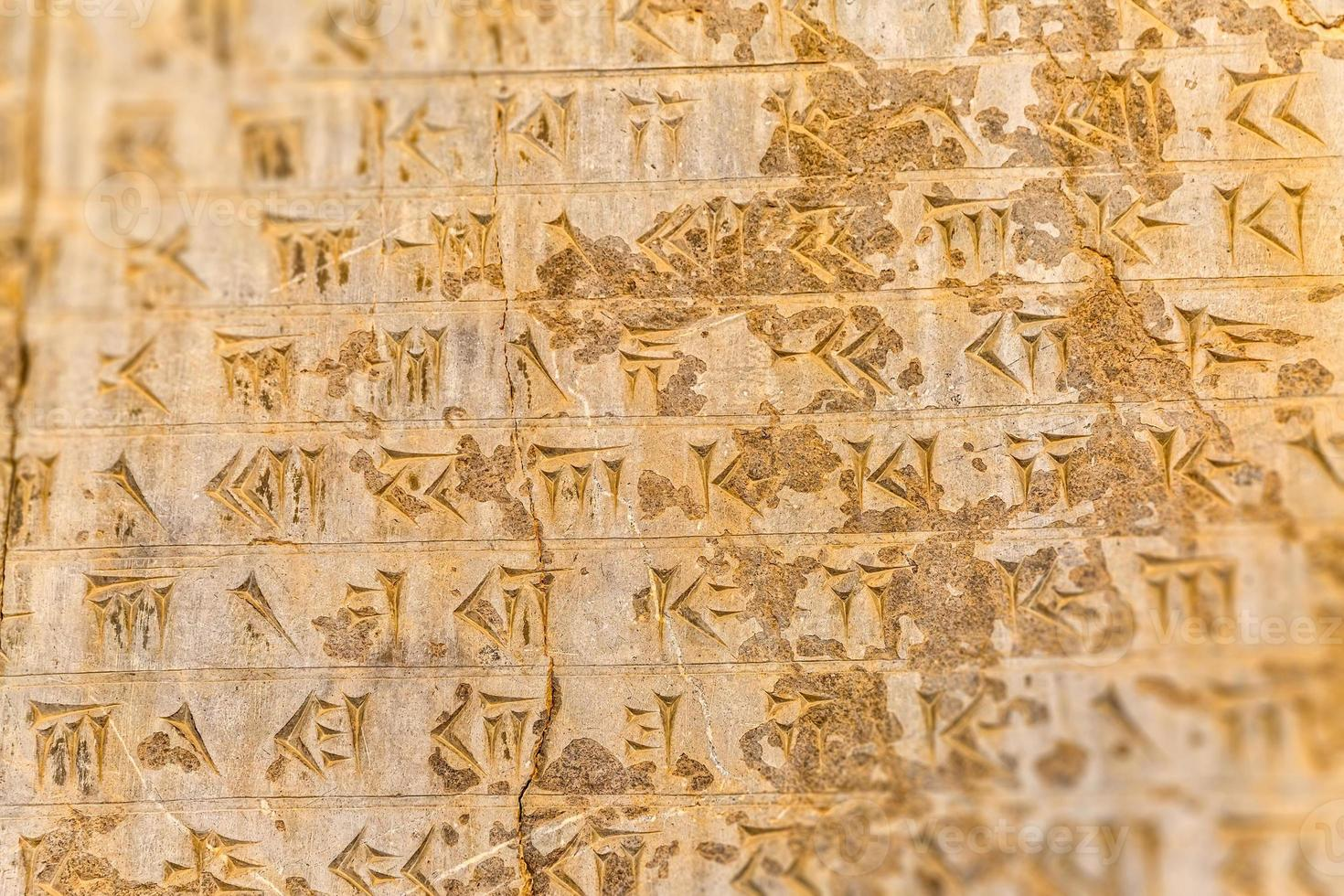 lettres cunéiformes persépolis photo