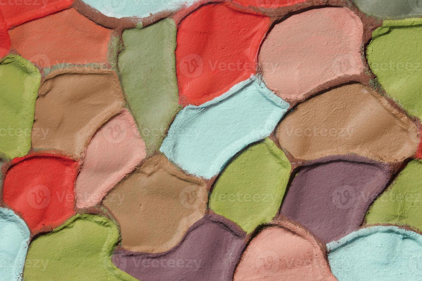 fond de plâtre ondulé de couleur décorative, xxxl photo