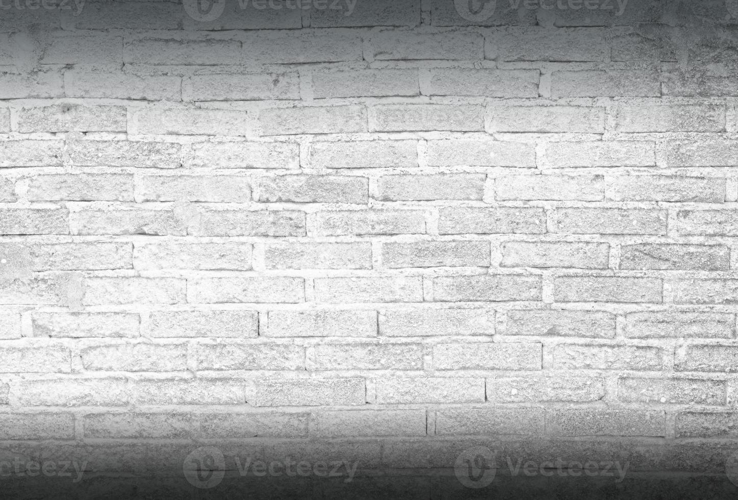 fond de mur de briques blanches photo