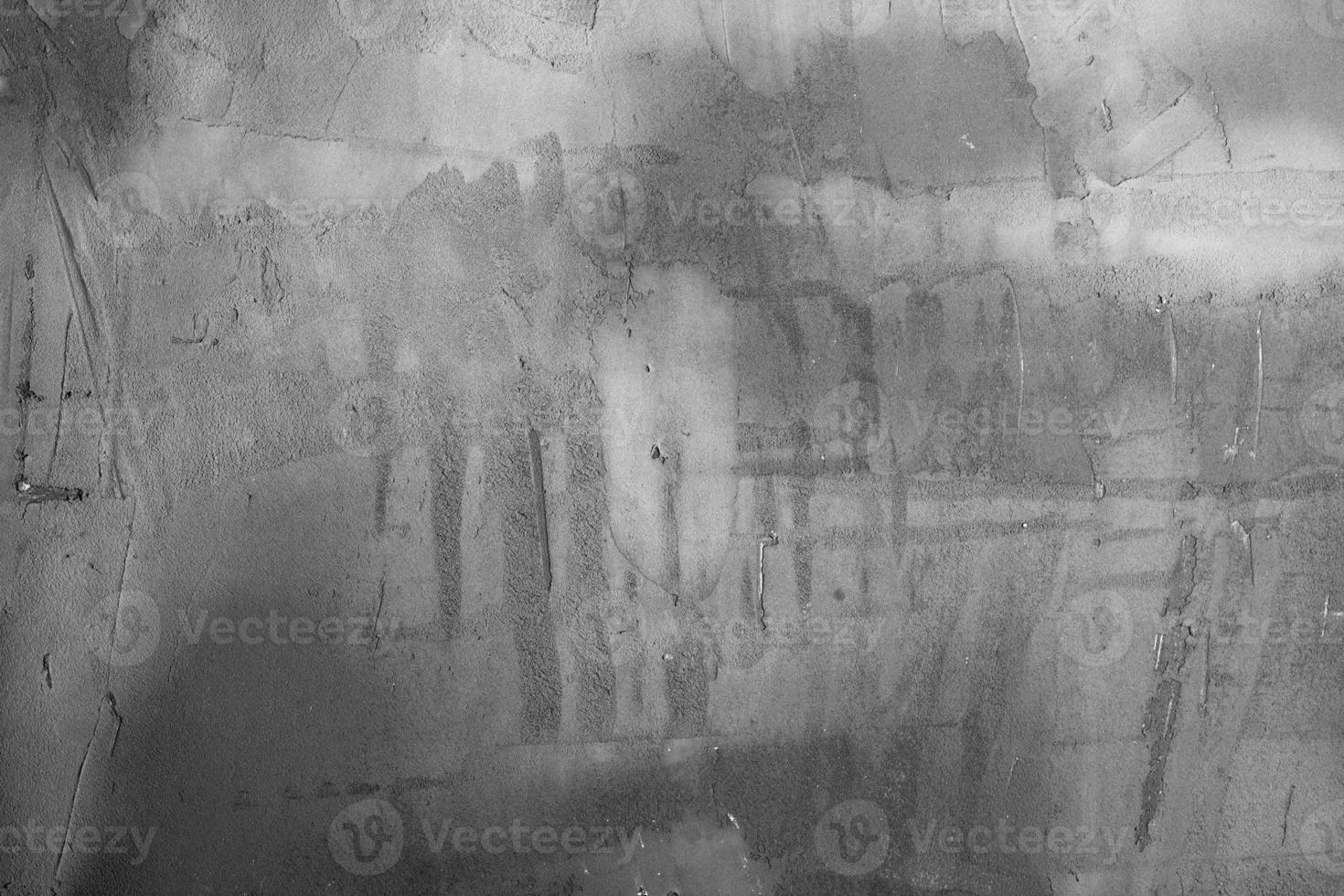 collection d'arrière-plans - mur de plâtre gris photo