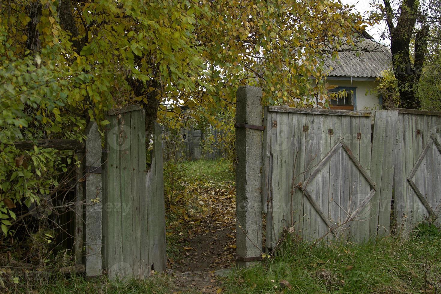 clôture rurale photo