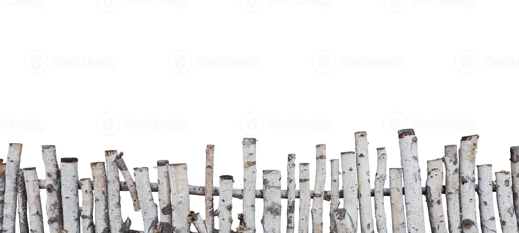 vieille clôture en bois photo