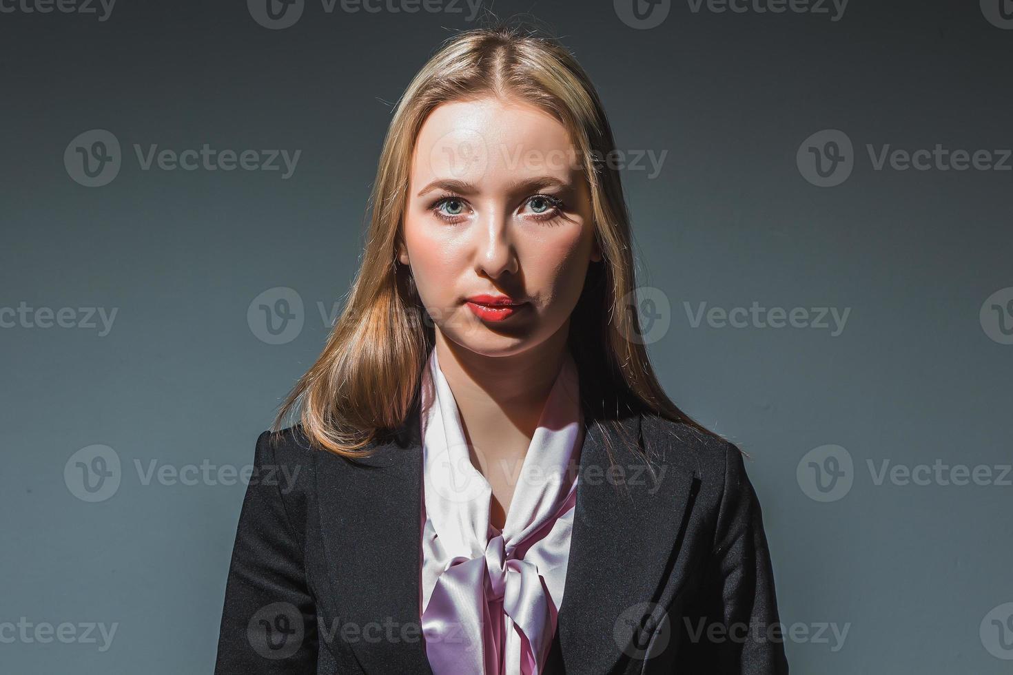 portrait, femme affaires photo