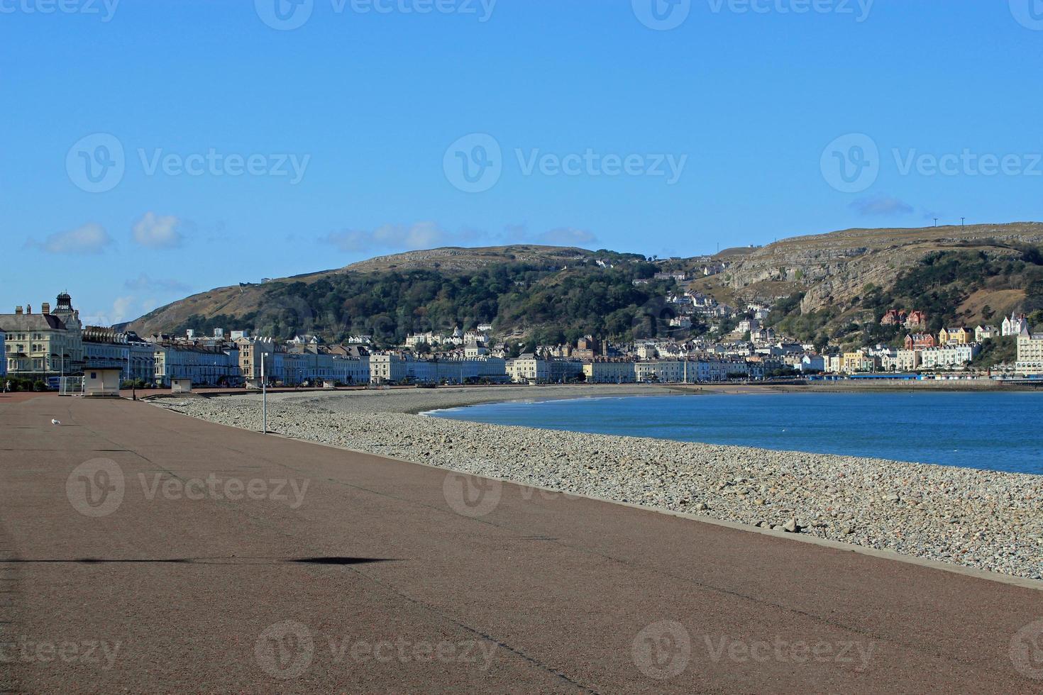 bord de mer typiquement britannique photo