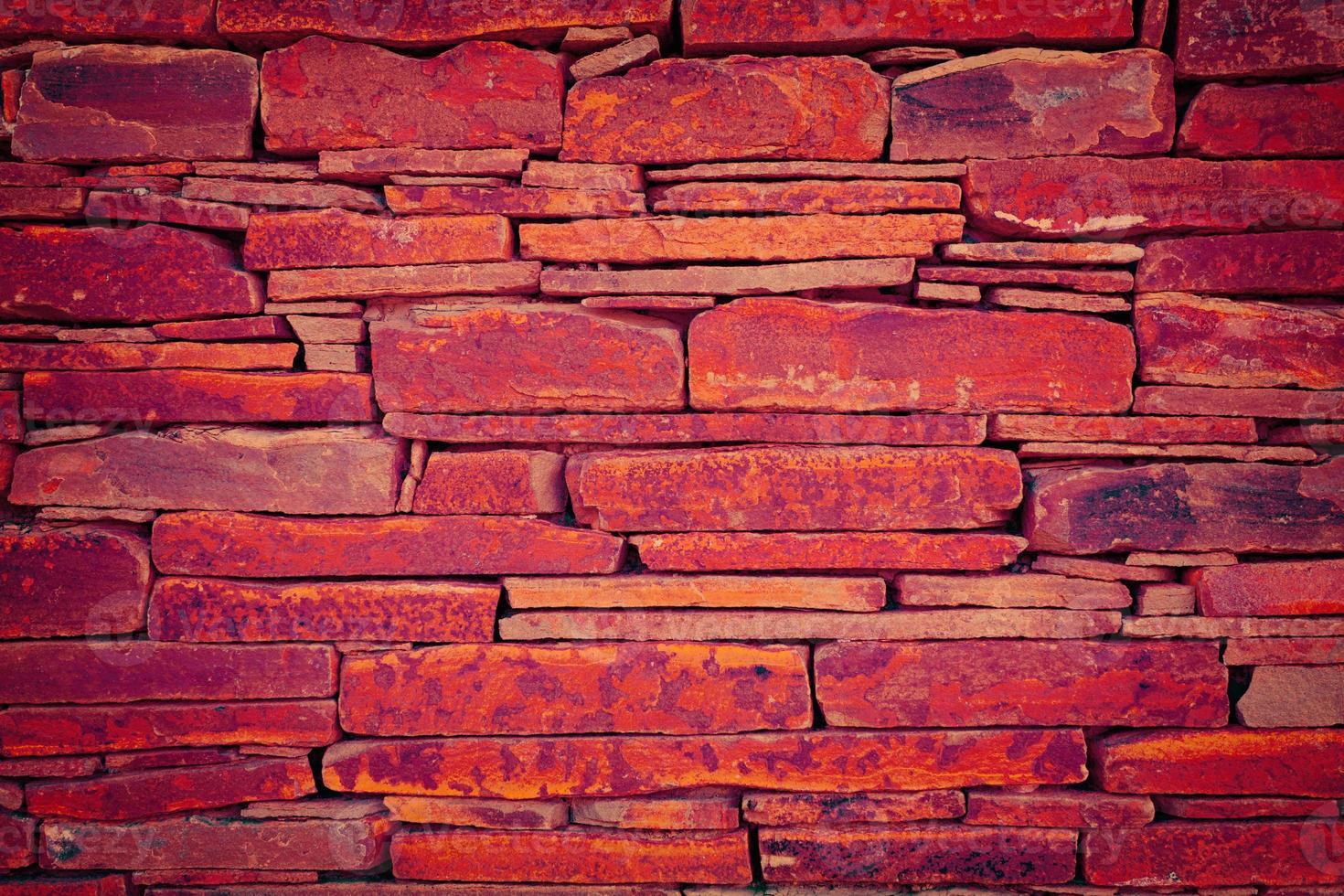 mur de briques grunge photo