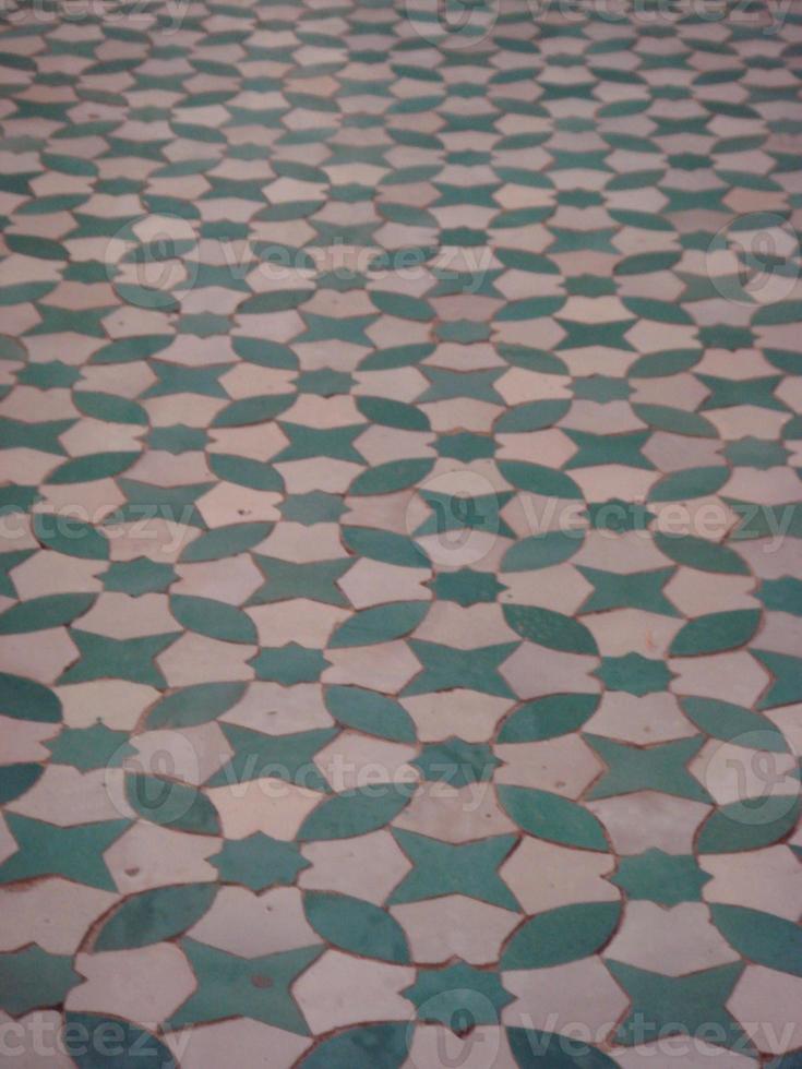 plancher arabe photo