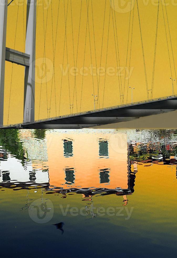 ponte riflesso photo