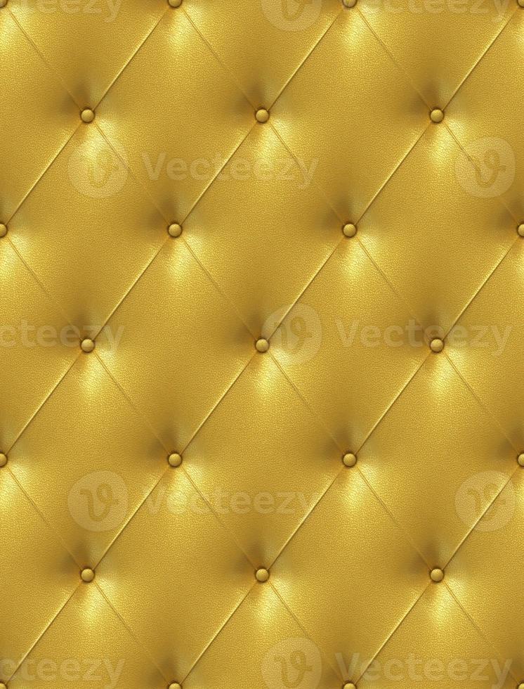 revêtement en cuir doré photo