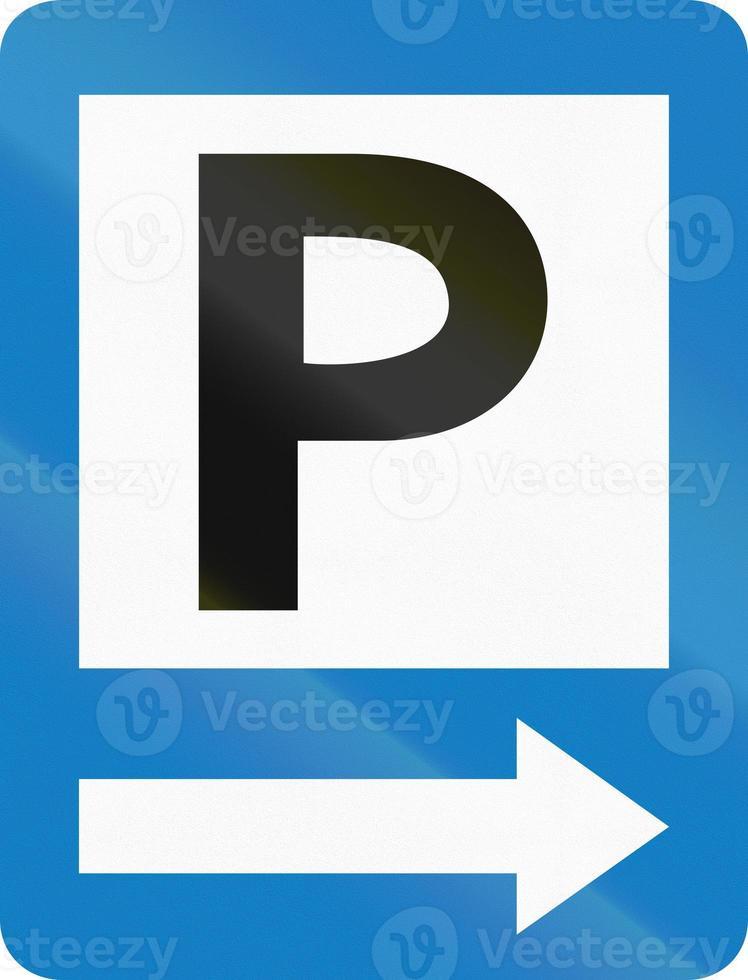 parking à droite en colombie photo
