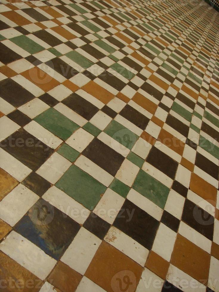 carreaux de sol arabes photo