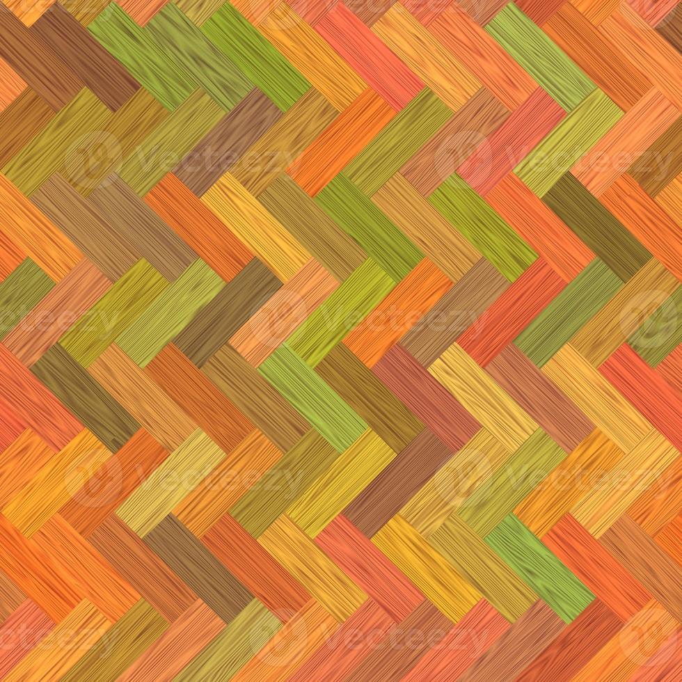 parquet multicolore photo