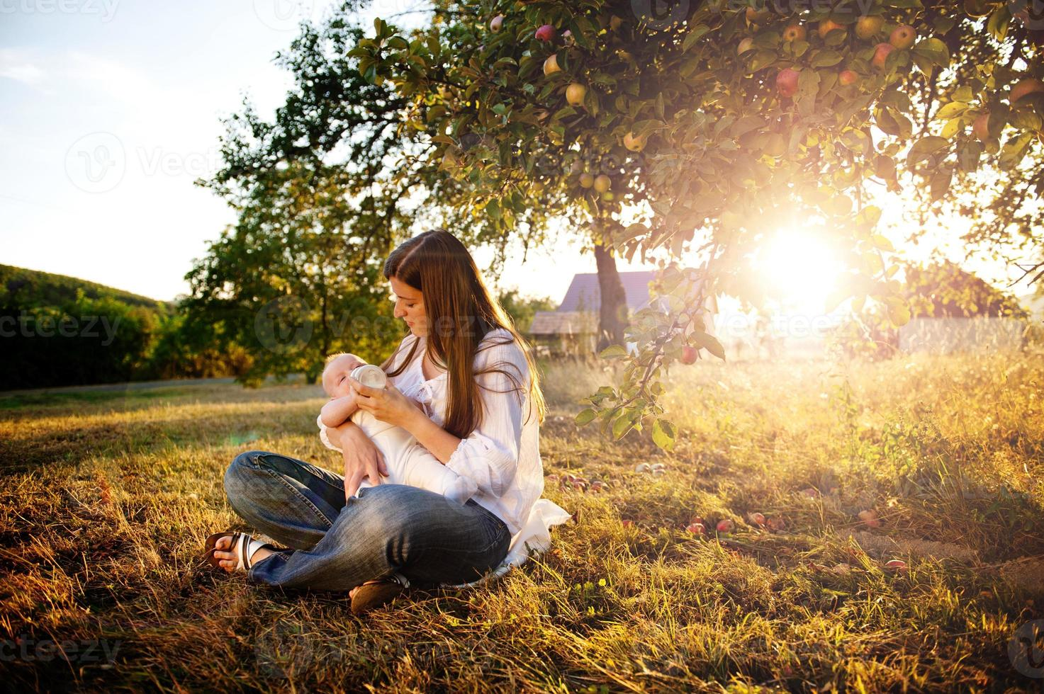mère et fils photo