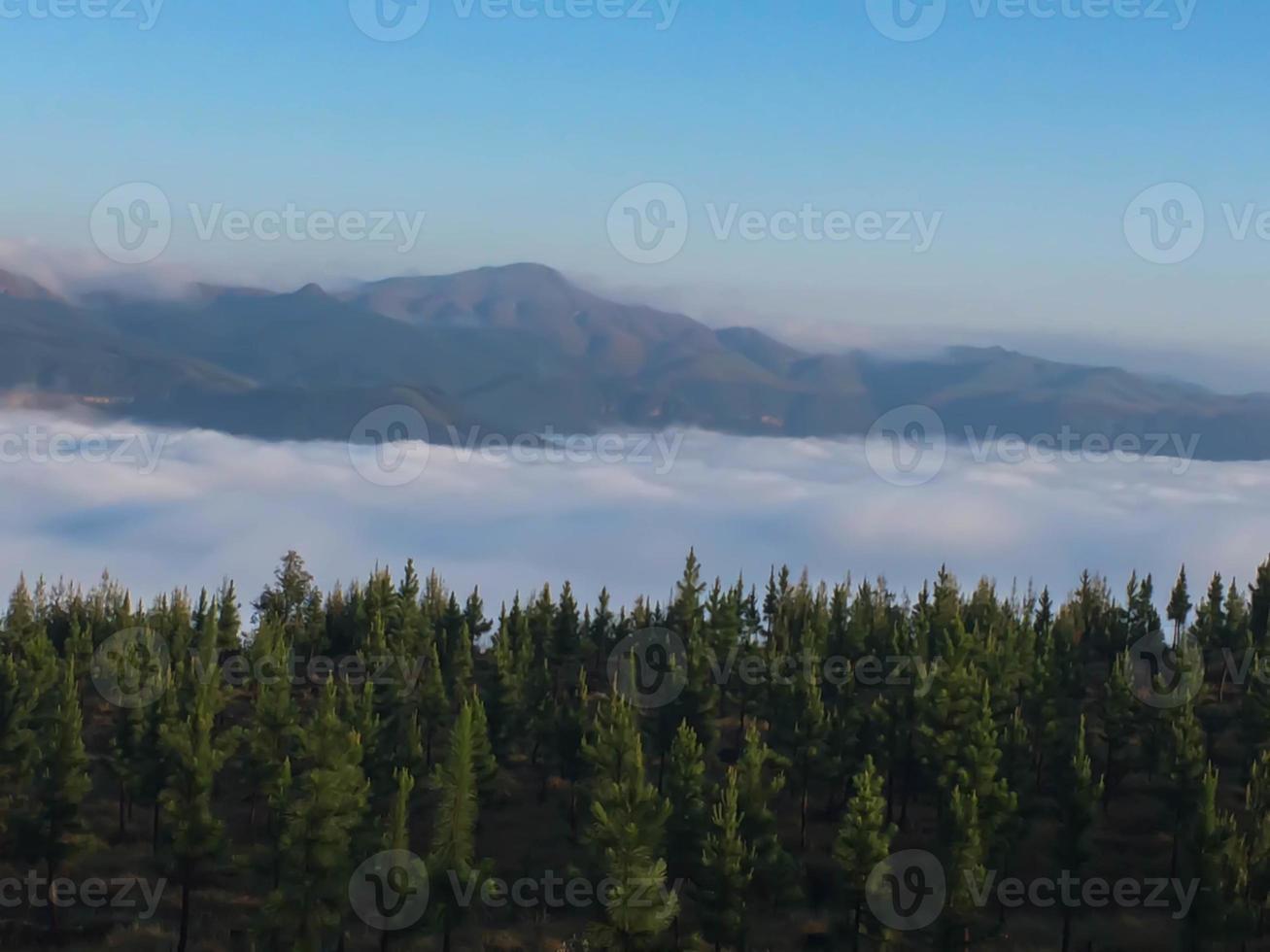 nuages tombés photo