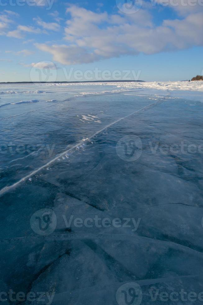 texture de glace congelée illustrée photo