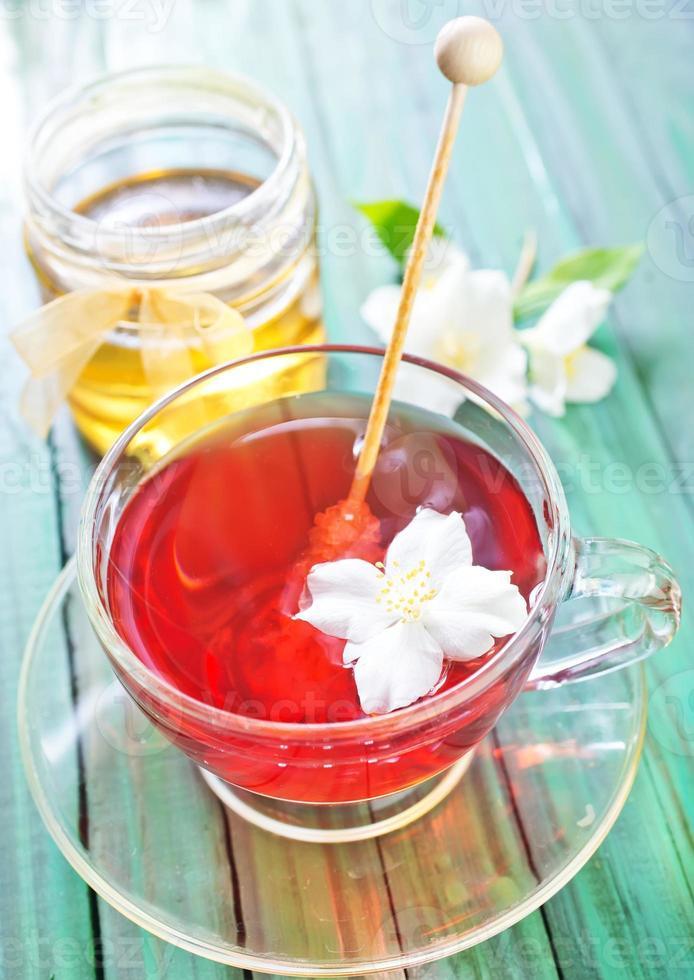 thé au jasmin photo