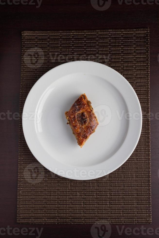 nourriture dans l'assiette photo