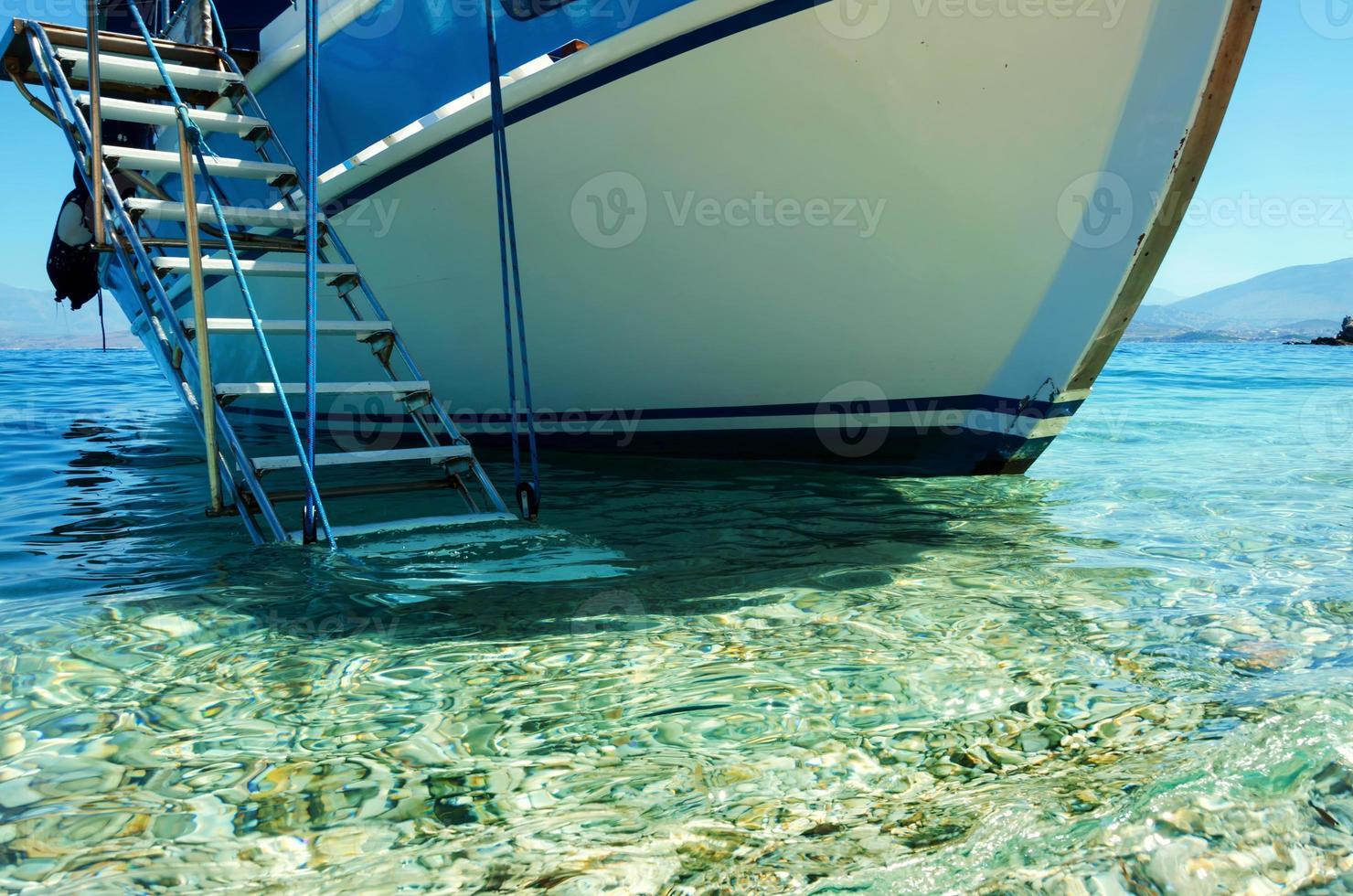 escaliers pour bateaux photo