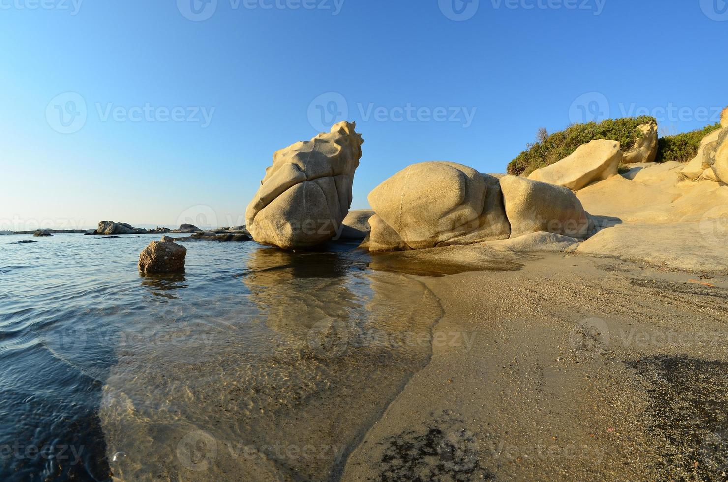 paysage marin fisheye photo