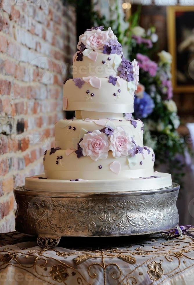 gâteau de mariage photo