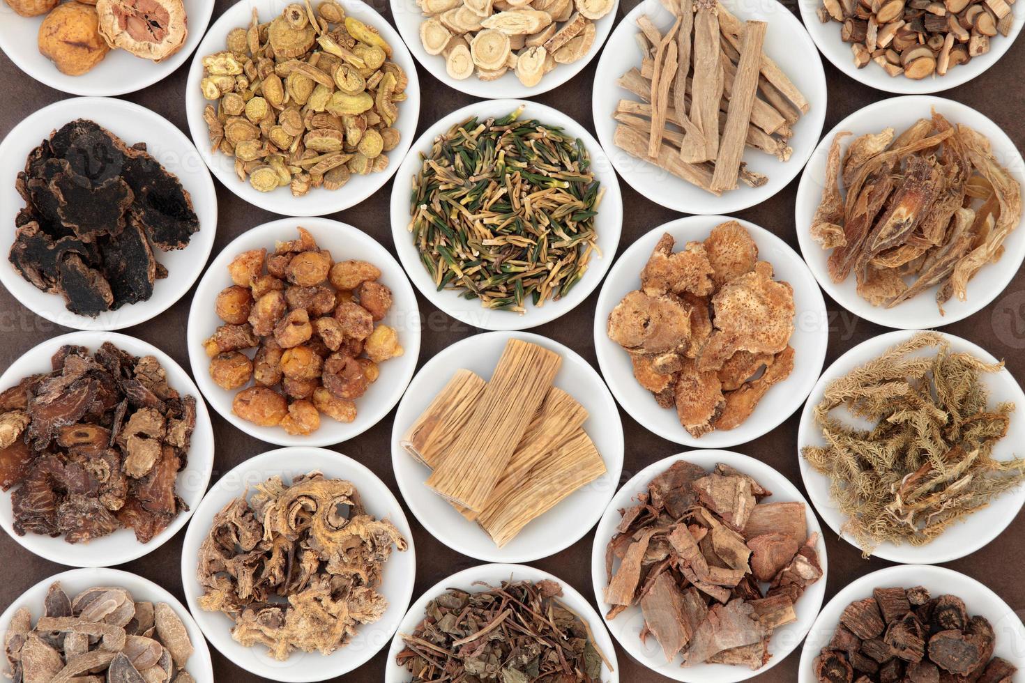 herbes chinoises photo