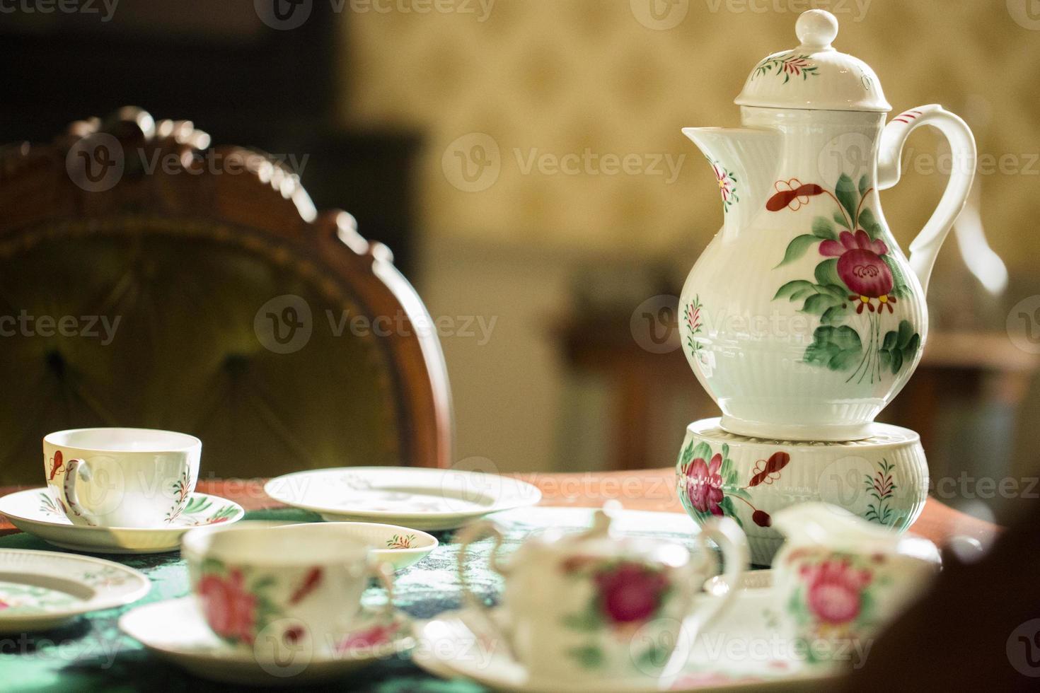 thé du matin photo