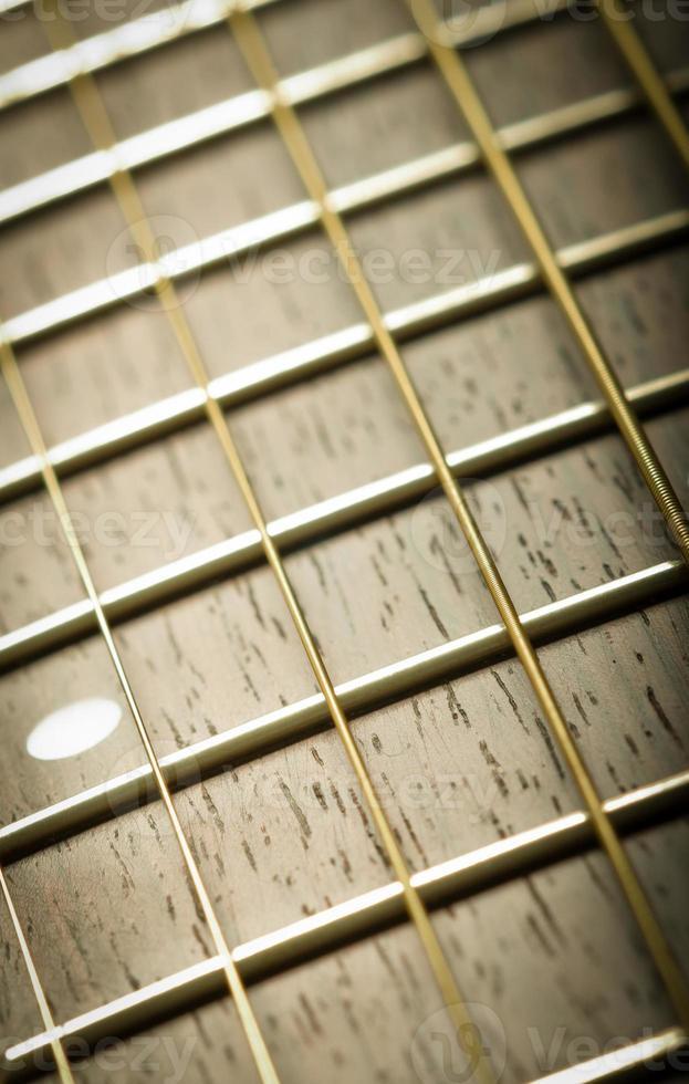 manche de guitare photo